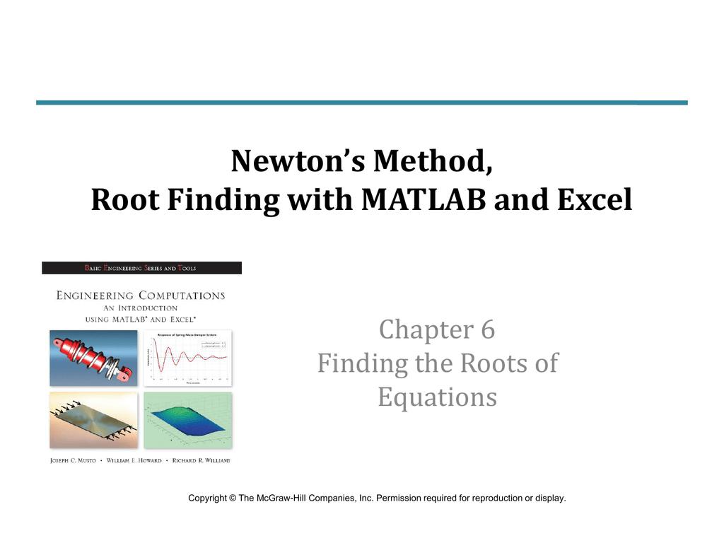 Calculate Roots Of Quadratic Equation In Matlab