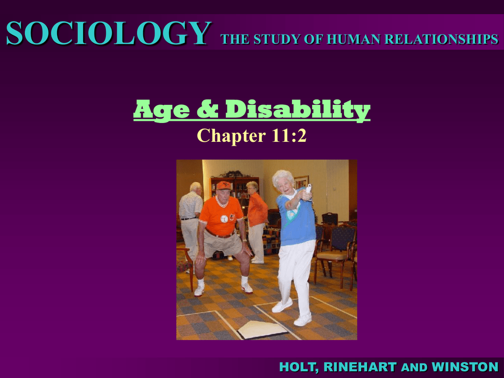 Chapter 11 Gender Age And Health