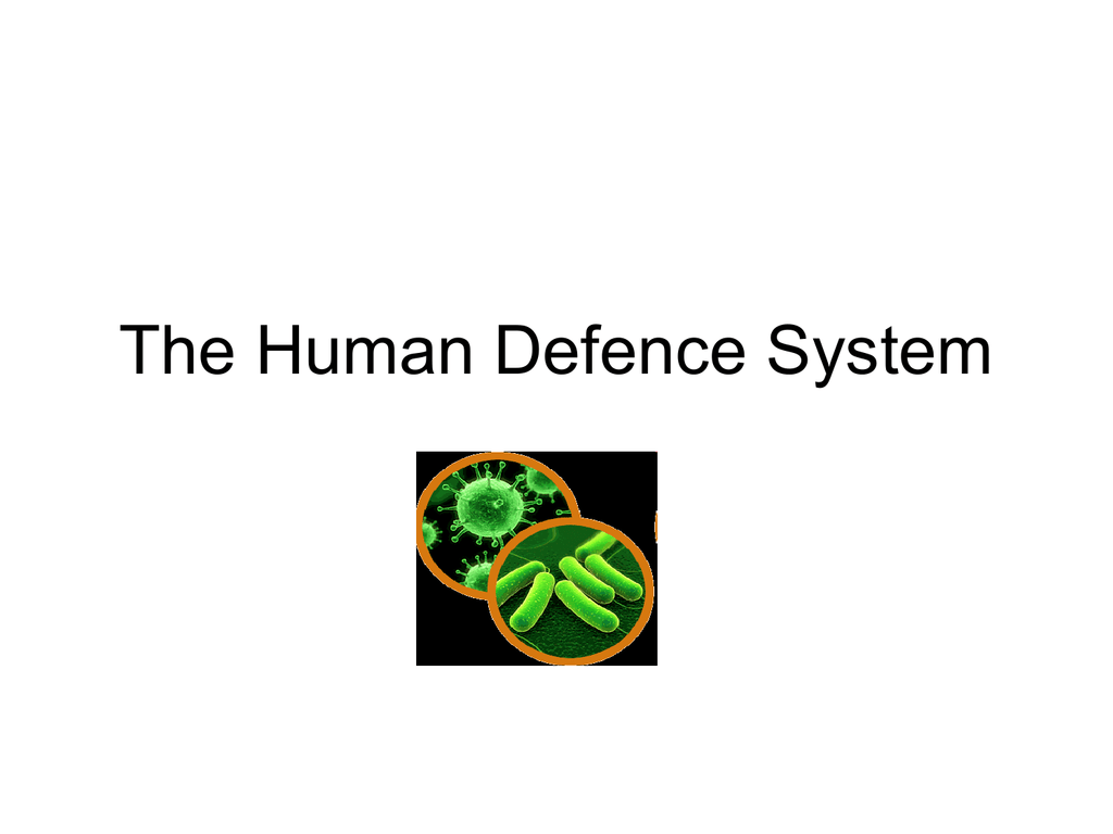The Human Defence System