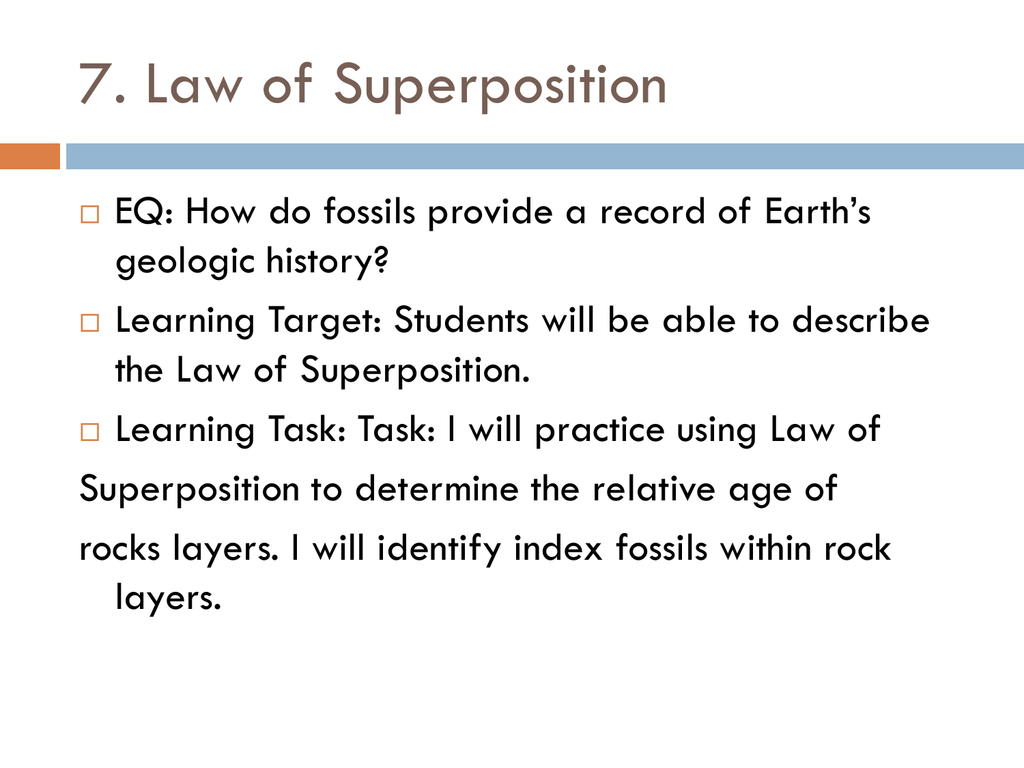 7 Who S On First Law Of Superposition