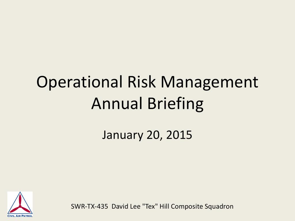 Operational Risk Management Usmc Worksheet
