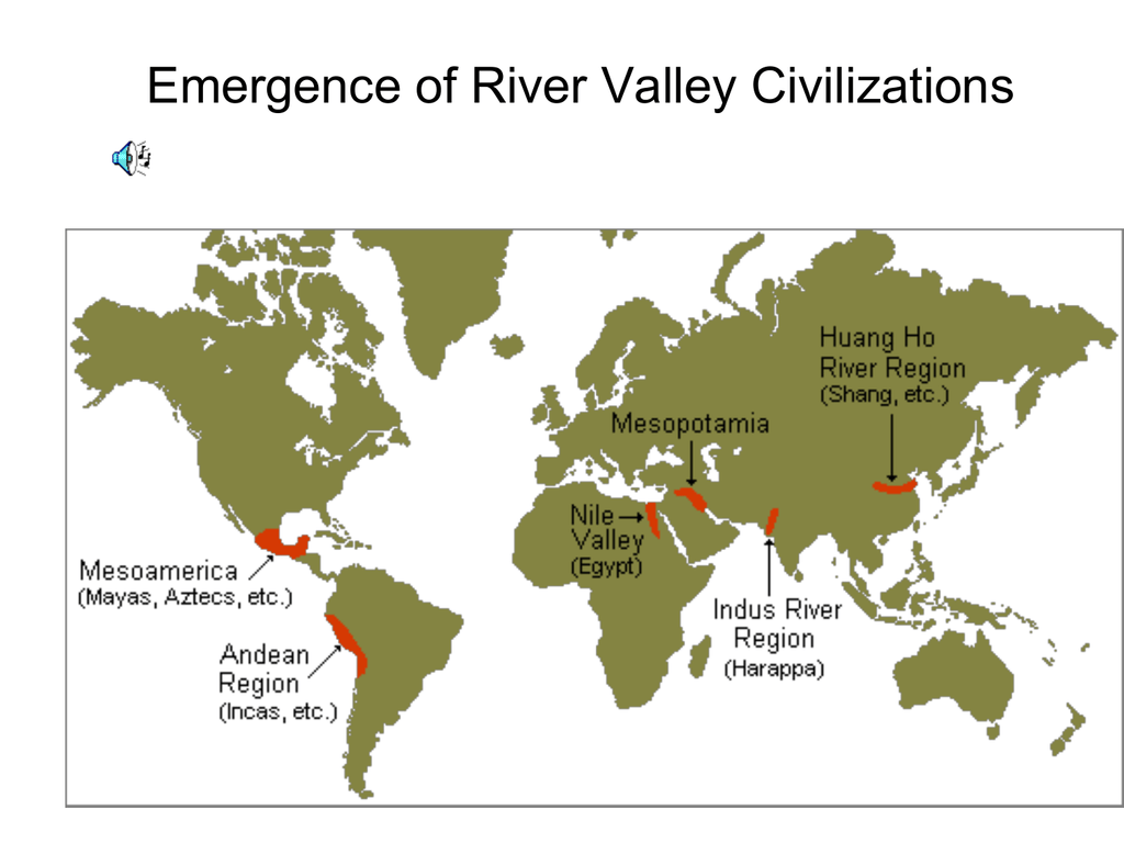 River Valley Civilizations Egypt The Nile Valley 03 06