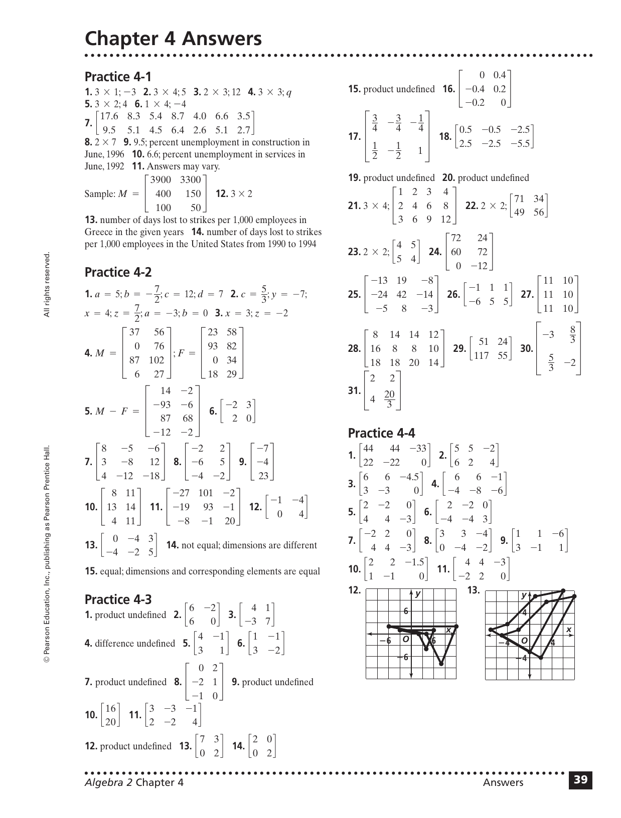 Prentice Hall Inc Worksheet Answers