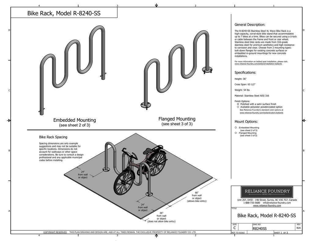Bike Rack Model R Ss