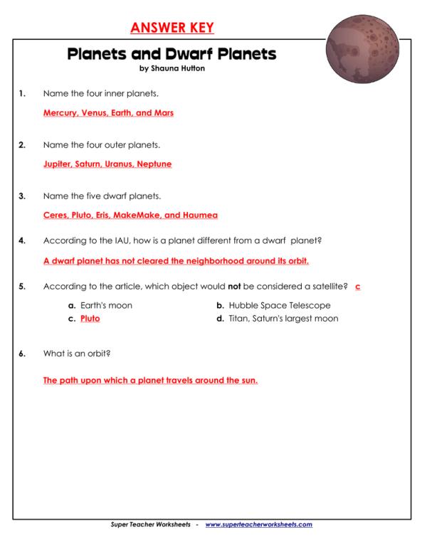 Super Teacher Worksheets Answer Key - wiildcreative