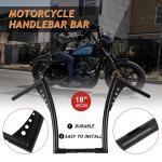18 14 Handlebar Rise Ape Hangers For Harley Sportster Xl 883 1200 Flst Fxst Us Ebay
