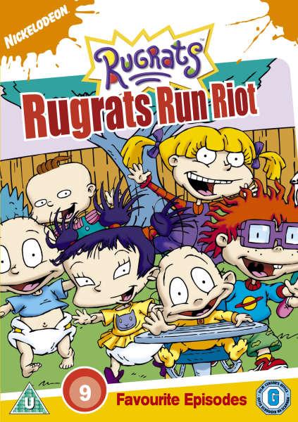 Rugrats Run Riot DVD   Zavvi