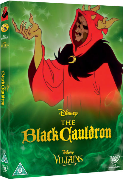 The Black Cauldron Disney Villains Limited Artwork