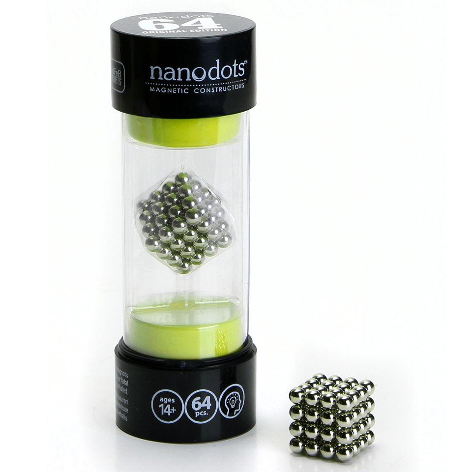 Nanodots Magnetic Constructors Original 64 Dots IWOOT