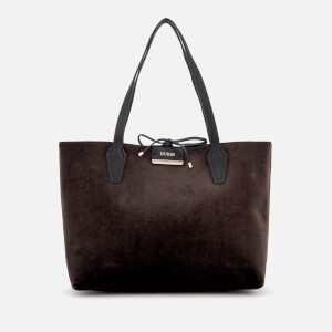 Guess Women's Bobbi Inside Out Tote Bag - Velvet/Black