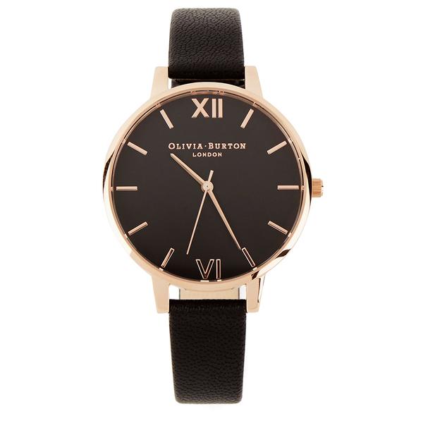 Olivia Burton Women's Burton Big Dial Watch - Black - Free ...