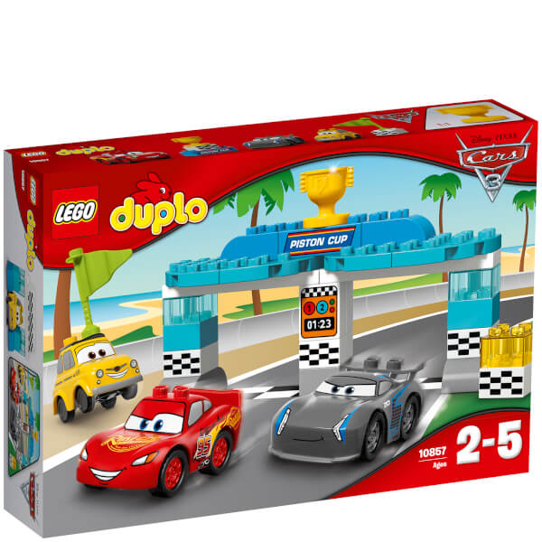 LEGO DUPLO  Cars 3 Piston Race Cup  10857  Toys   TheHut com LEGO DUPLO  Cars 3 Piston Race Cup  10857   Image 1
