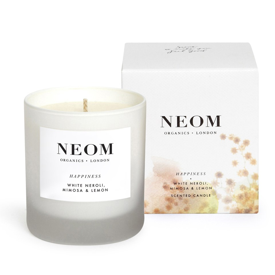 Organic Scented Candle Happiness