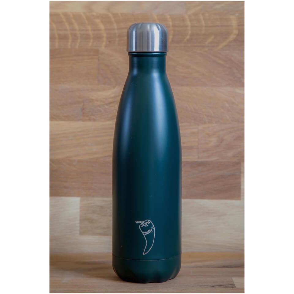 Chillys Bottles 500ml Matte Green IWOOT