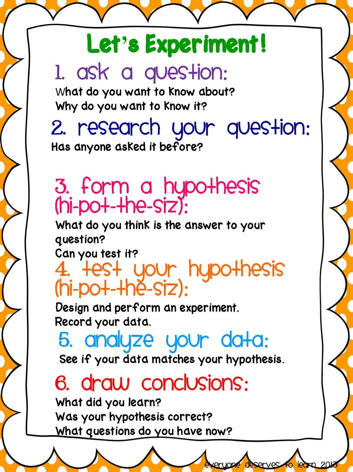 Scientific Method 1st Grade Worksheets