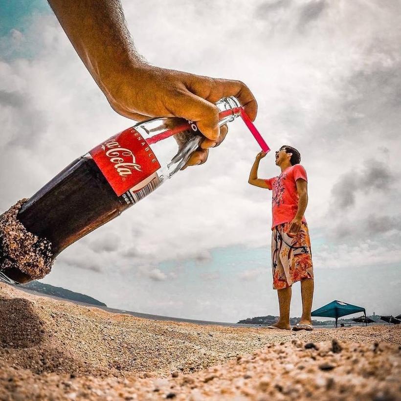 17 крутых фото о том, как надо фотографироваться в отпуске