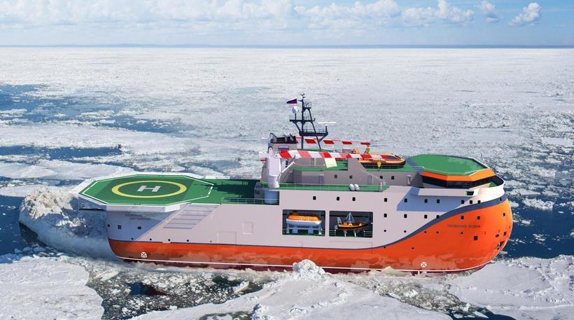 Россия строит исследовательское судно «Северный полюс», аналогов которому нет в мире