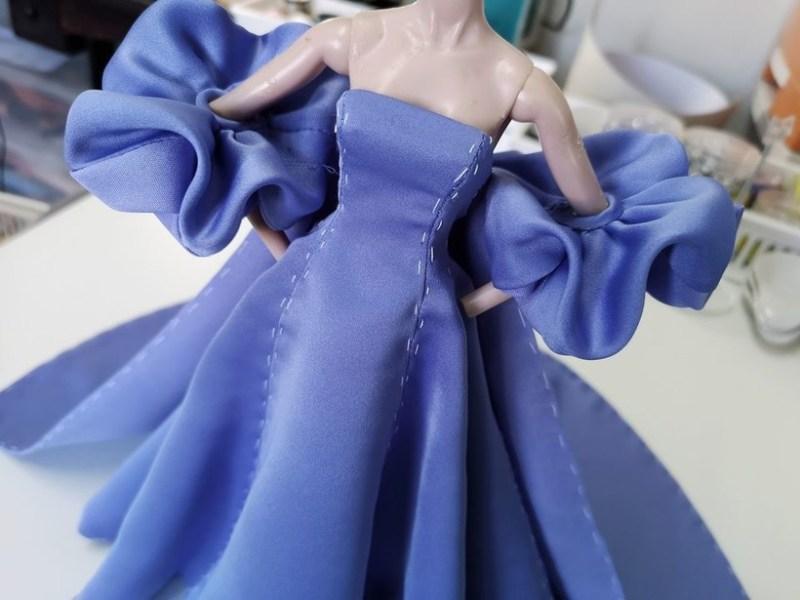 Кукольный модельер Грейс Панисара: одежда для игрушек от кутюр