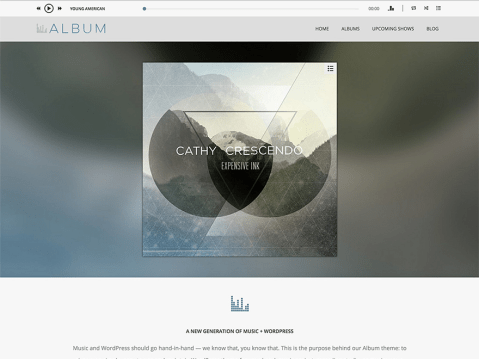 A beautifully crafted audio theme for WordPress.
