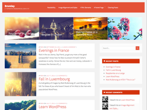 The best elements of blogging themes manipulated into something beautifully simple. Ideal for local community, fan magazines, and talking about updates in your industry.