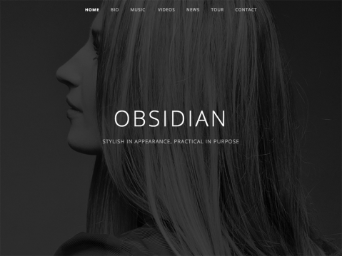 The Obsidian theme, like the naturally occurring volcanic glass it's named after, possesses an inherent allure that's stylish in appearance and practical in purpose.