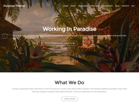 A versatile business theme designed with purpose.