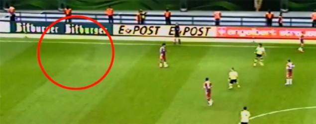 Un supuesto fantasma en el fútbol alemán / Foto: Captura de YouTube
