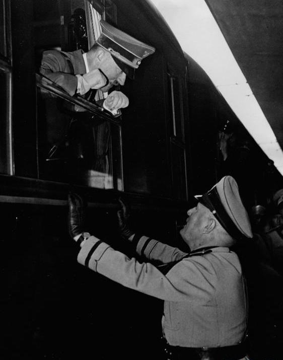 Octombrie 1940 Pasul Brenner Auastria Adolf