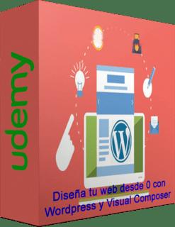 Udemy: Diseña tu web desde 0 con WordPress y Visual Composer (2017)
