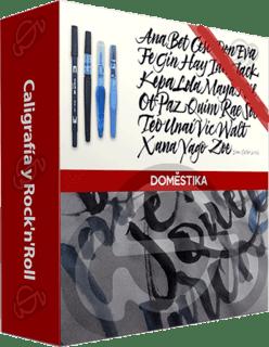 Domestika: Curso Caligrafía y Rock'n'Roll (2016)