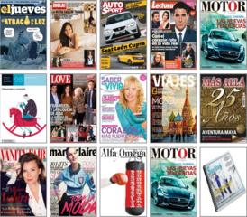 Pack de Revistas 20-21-22 Febrero 2014