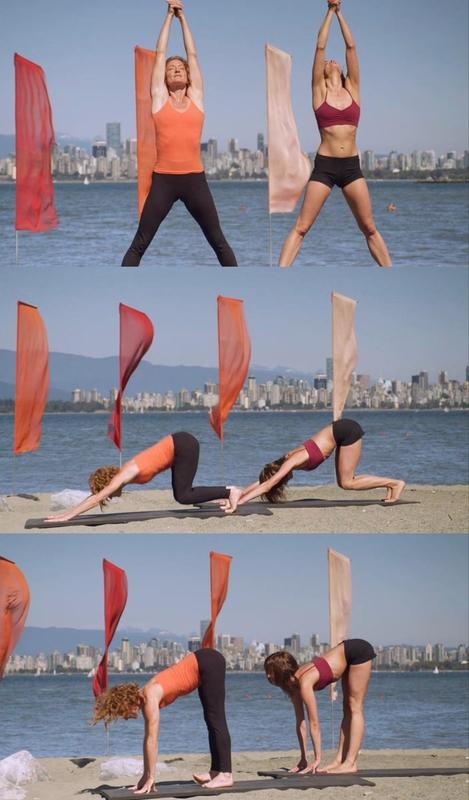 Kate Potter: Namaste – Los 5 elementos [Yoga][DVDrip]