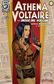 Athena Voltaire y la Diosa del Volcán  [1-3] (2016)