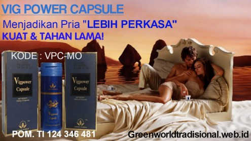 Cara Beli Vig Power Capsule