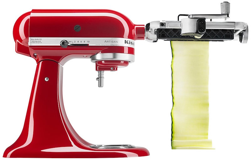 KitchenAid Vegetable Sheet Cutter Get Paper Thin Veggies