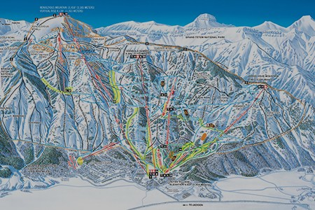 jackson hole resort map » Path Decorations Pictures | Full Path ...