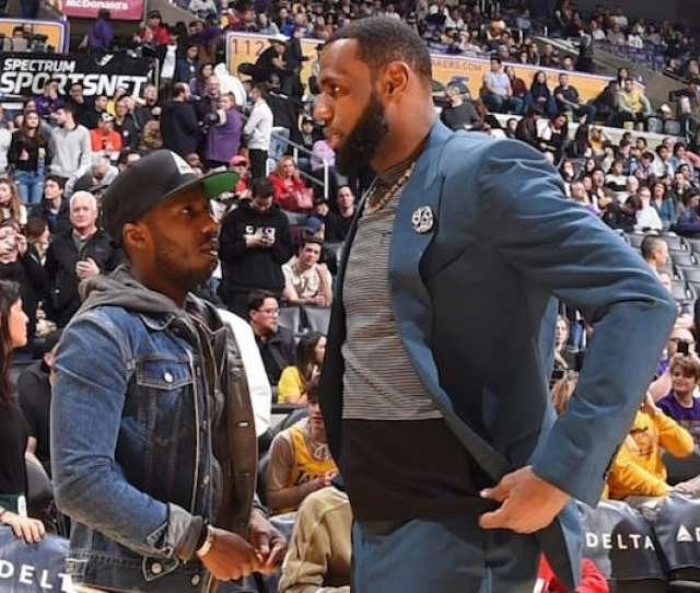Lakers News Lebron James Defends Agent Rich Paul Amid Mounting Criticism Denies Visit To Duke Virginia Game Was Recruiting Trip For Zion Williamson