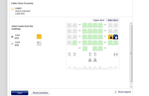 The Person I Spoke With Was Very Nice Yet Just Reading What See On Lufthansa Website Attached Screenshot Of Seats Reserved And Paid