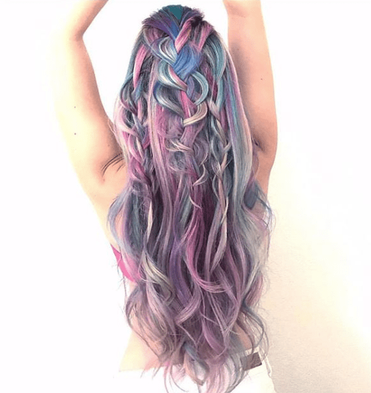 Mermaid Hairstyles And Makeup The Fierce Nature Of It All