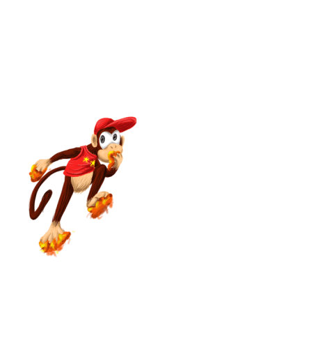 Diddy kong country concept shirt