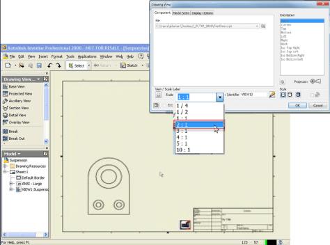 Autodesk Inventor planos