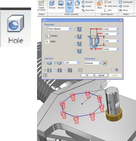 Autodesk Inventor piezash