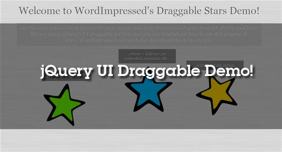 jQuery Draggable Demo and Tutorial | Impress.org