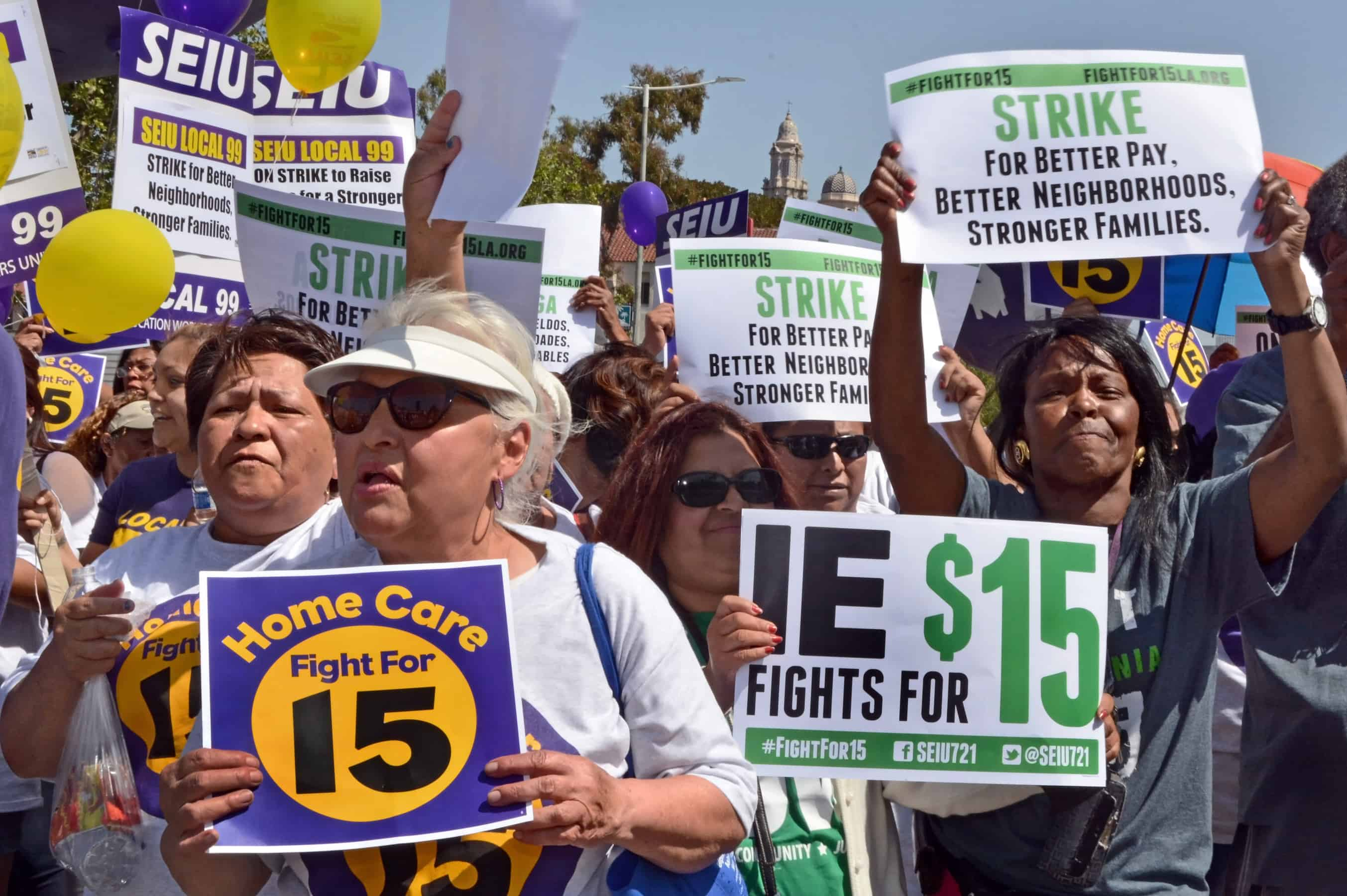 15 Minimum Wage Ballot Measures Pushed For In California