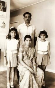 Family in Malaysia