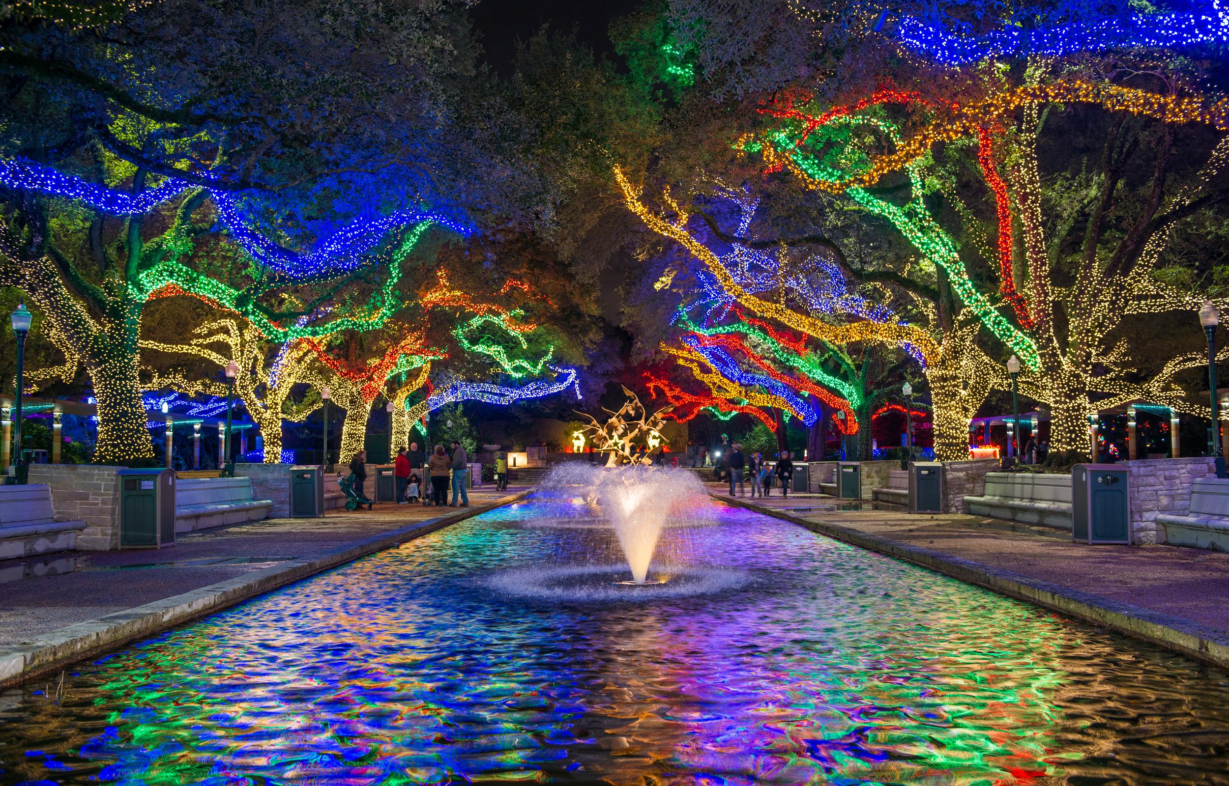 Zoo Lights Houston Free