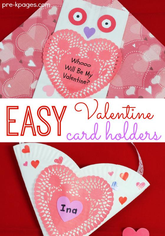 Easy Valentine Holder Craft