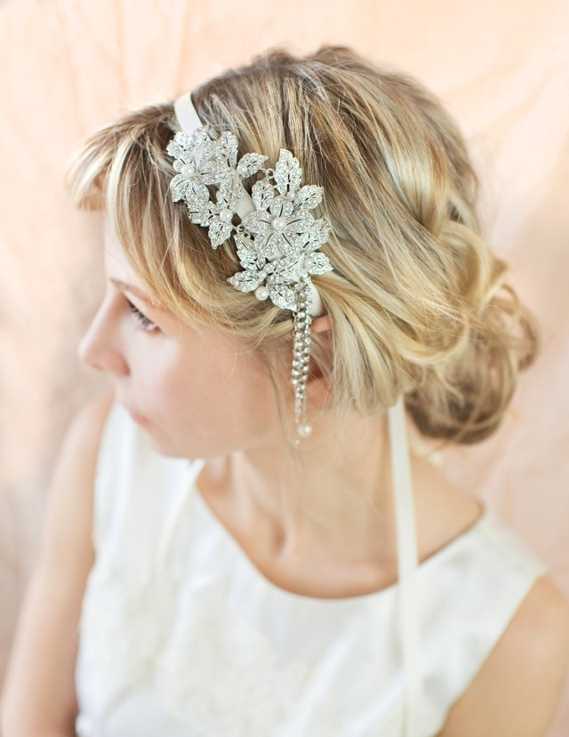 1920s gatsby inspired wedding hairstyles - modwedding
