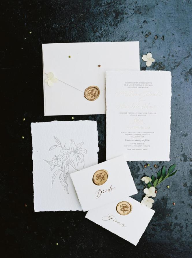Tropical White And Green Bali Wedding From Taylor Porter