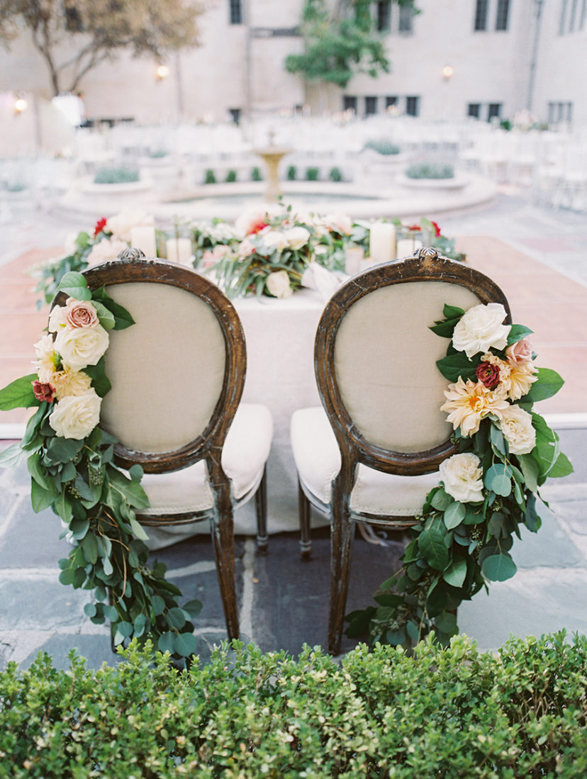 Picture-Perfect Outdoor Beverly Hills Wedding at Greystone Mansion